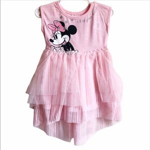 Disney Junior Minnie Mouse Pink Dress 2T